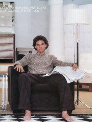 Client: Flare Magazine - Photographer: John van der Schilden - Hair: Howard Barr