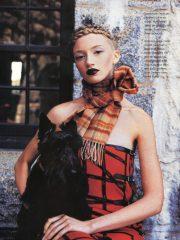 Client: Flare Magazine - Photographer: Josh Cornell - Hair: Heather Fox