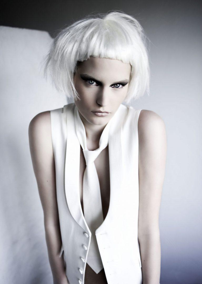 kathy chau, hair and makeup, fashion, beauty, herr von eden, manuel pandalis, black and white, bold, avant garde