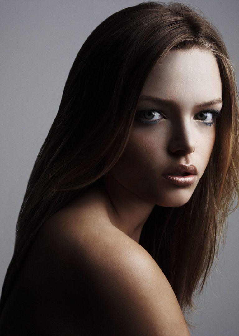kathy chau, hair and makeup artist, sam bisso, girls, fashion, beauty, portrait, soft shadows